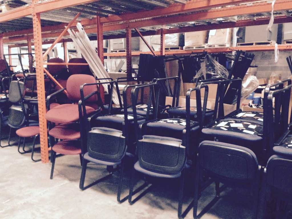 office furniture storage in tampa bay