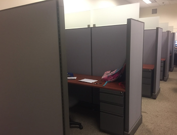 cubicle install